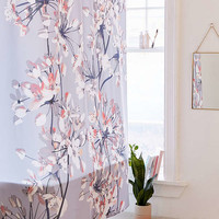 Emanuela Carratoni For Deny Delicate Floral Shower Curtain | Urban Outfitters