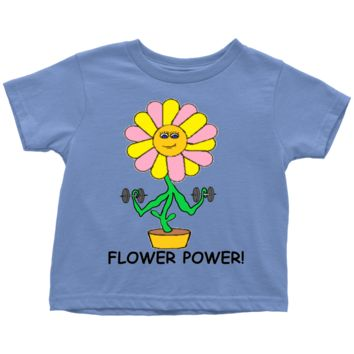Toddler Flower Power T-Shirt