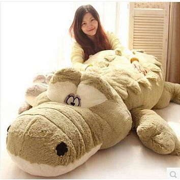 Extra Large Crocodile  Plush Toy