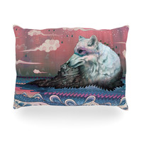 "Mat Miller ""Lone Wolf"" Oblong Pillow"