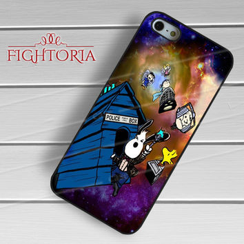 Snoopy Tardis - z321z for iPhone 6S case, iPhone 5s case, iPhone 6 case, iPhone 4S, Samsung S6 Edge