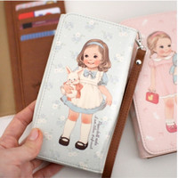 Large Paper Doll Smartphone Wallet