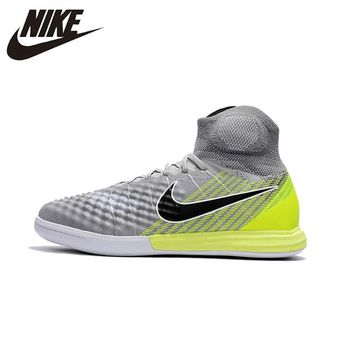Nike Magista X Prosimo II IC Men's Football Sneakers Indoor Gray Soccer Training Sneakers Sports Shoes 843957-703 39-45