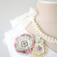 Baby Shower Maternity Corsage - Pastel Blossoms