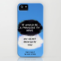 TFIOS Quote #2 iPhone & iPod Case by Jerry Maestas