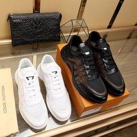 LV Louis Vuitton Men 2019 New Fashion Casual Leisure Sneakers Running Sport Shoes Best Quality