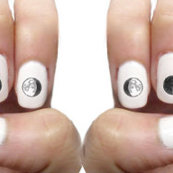 Phases of the Moon Nail Decals (20 ct)