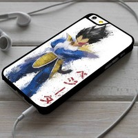 Vegeta Dragon Ball Z Splatter Art iPhone 4/4s 5 5s 5c 6 6plus 7 Case