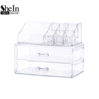 SheIn Woman Bags Fashion New Arrival Famous Brand Casual Plastic Acrylic Makeup & Beauty Storage