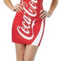 Rasta Imposta Coca-Cola Tank Dress, Red, Adult 4-10