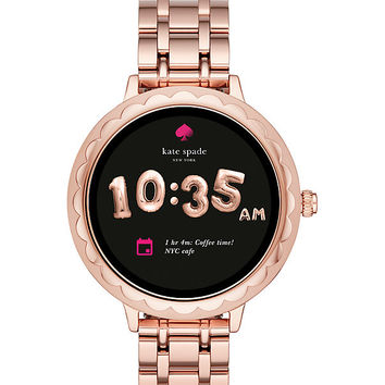 scallop touchscreen smartwatch | Kate Spade New York