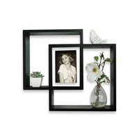 Intersecting Shadow Box Photo Frame