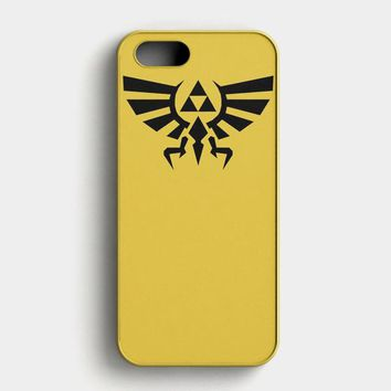 Legend Of Zelda Tools iPhone SE Case