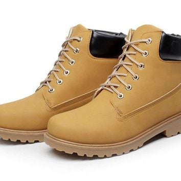 Chunky-soled Boots