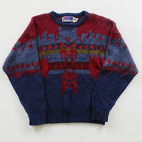Graphic Aztec Design Sweater AKA The Cosby Sweater