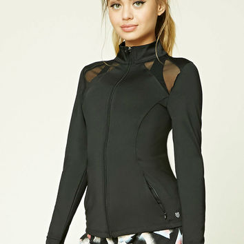 Active Mesh-Paneled Jacket