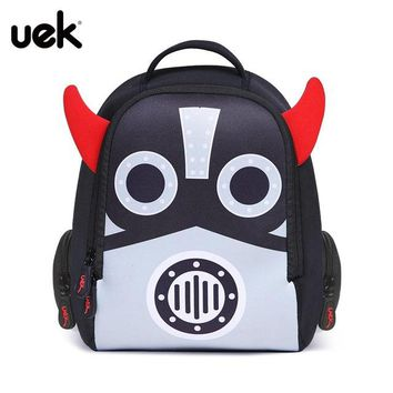 Toddler Backpack class UEK Cartoon Robot Kids Backpack Little Children's Backpacks School Bags For Girls Boys Toddler Baby for 2-4 Years Old Mochila AT_50_3