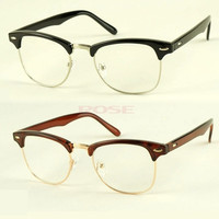 Fashion Korean Framed Glasses Plain Glass Spectacles 7715 = 1646018756