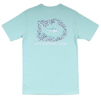 Respect Their Sea T-Shirt in Offshore Green by Southern Tide