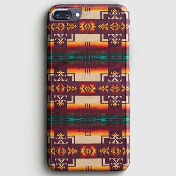 Pendleton Maroon Chief iPhone 8 Plus Case | casescraft