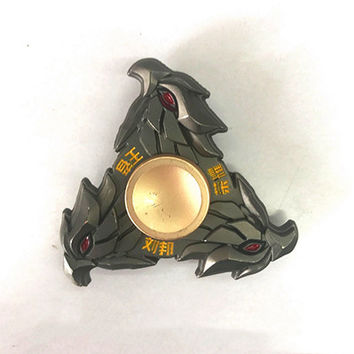 Hot Selling EDC Toyssss Triangular Hand Spinner High Quality Metal Profession Genji Spinner ADHD Tri Spinner Cool Fidget Spinner