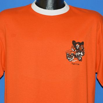 90s Cub Scouts Tiger Cub Boy Scouts Leader t-shirt Large