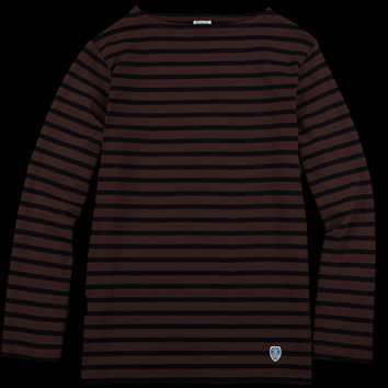 UNIONMADE - Orcival - Striped Long Sleeve Tee in Lees and Marine