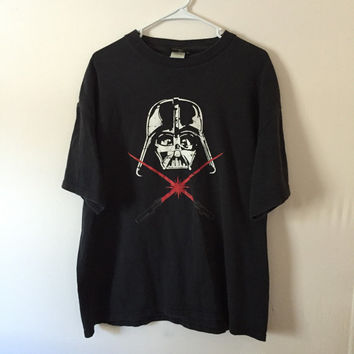 Star Wars Darth Vader T-shirt, Darth Vader Shirt, Star Wars Shirt, Vintage Shirt, Vintage Tee, Comic book shirt, XL Shirt