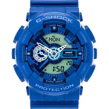 G-Shock GA110 G-Shock x Baby G Pair in Royal Blue