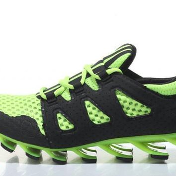 Adidas Springblade Ignite. Fluorescent Green Men's Gym Shoes