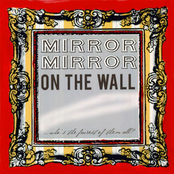 Mirror Mirror On The Wall | Canvas Wall Art