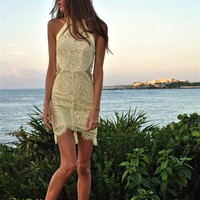 Swinging On A Star Lace Dress