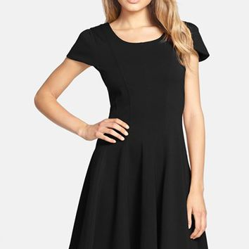 Women's FELICITY & COCO Double Knit Fit & Flare Dress (Nordstrom Exclusive)