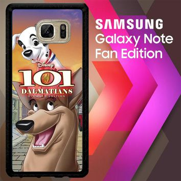 101 Dalmatians Hero X3649 Samsung Galaxy Note FE Fan Edition Case