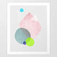 Graphic 123 Art Print by Mareike Böhmer Graphics