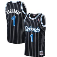 Orlando Magic Penny Hardaway Mitchell & Ness Black 1994-95 Hardwood Classics Swingman Jersey - Best Deal Online