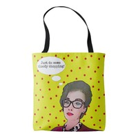 Just Do Some Shopping!! Tote Bag