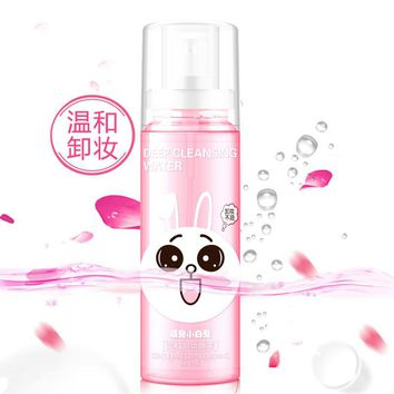 Cute Rabbit Gently Makeup Remover Spray Cleansing Water Spray Water Deep Cleansing Oil-control Replenishment Moisturizing 100ml