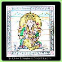 Throw - Ganesh - Online Shop