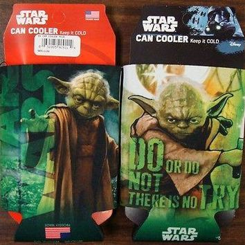 YODA DO OR DO NOT THERE IS NO TRY  WARS KADDY KOOZIE CAN HOLDER NEW WINCRAFT