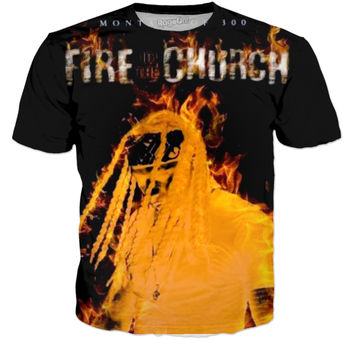 Fire In The Church Montana Of 300