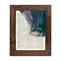 Howls Moving Castle  Howl At War Original Print on by AvantPrint