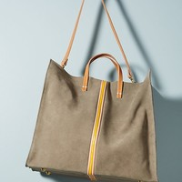 Clare V. Simple Striped Tote Bag