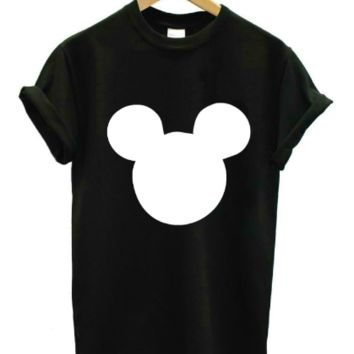 Mickey Mouse Head T-Shirt