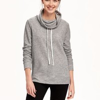 Relaxed Funnel-Neck Sweatshirt for Women | Old Navy