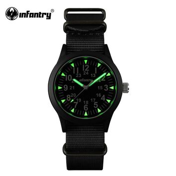 Infantry Mens Watches Luminous