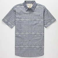 Coastal Matter Mens Shirt Blue  In Sizes