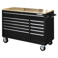 Husky, 52 in. 11-Drawer Mobile Workbench, HOTC5211B1QBD at The Home Depot - Mobile