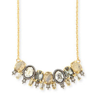 Alexis Bittar Elements Spiked Crystal Pendant Necklace