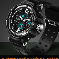 Men Sport Military Quartz Watch